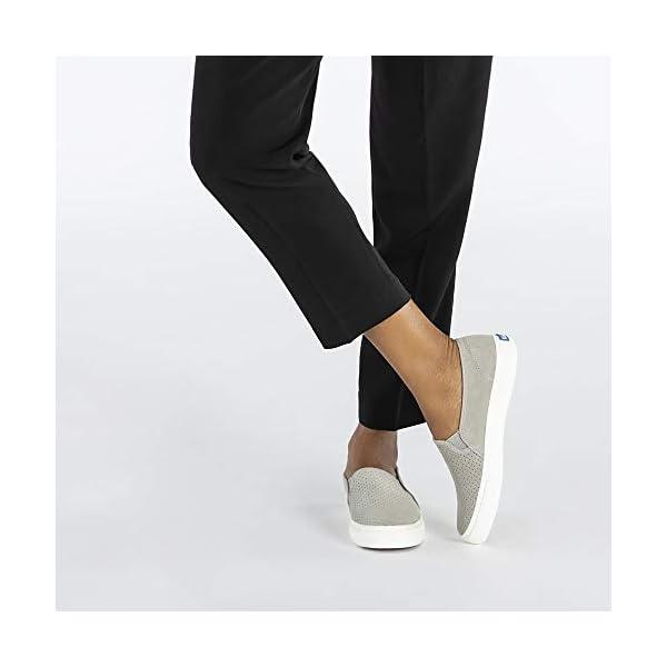 Keds Women's Double Decker Perf Suede Sneaker