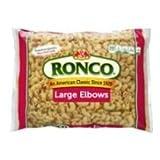 Ronco Large Elbows, 16 Ounce -- 24 per case.