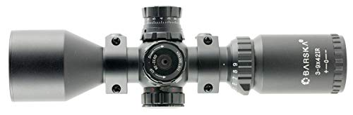 BARSKA 3-9x42 Contour Riflescope IR Mil-Dot Riflescope