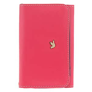 YXF High-Heeled Shoes Leather Vein Pattern Hard Case for Samsung Galaxy S2 I9100
