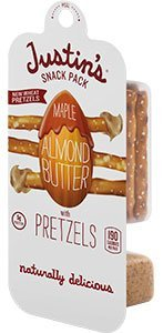 Justin's Snack Pack Maple Almond Butter With Pretzels