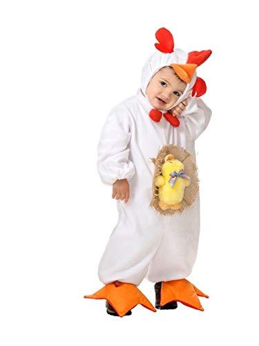 DISBACANAL Disfraz gallina para bebé - -, 12 Meses: Amazon.es ...