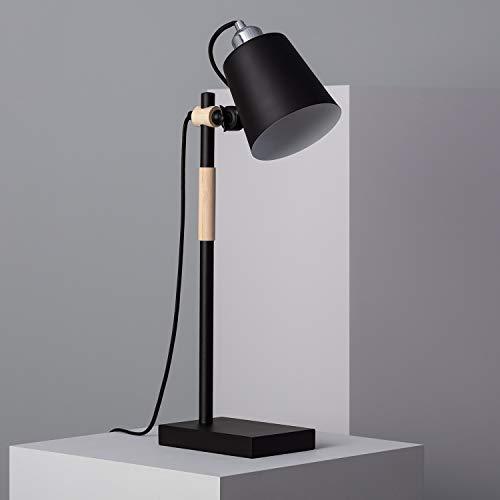 LEDKIA LIGHTING Tafellamp Luxo Zwart