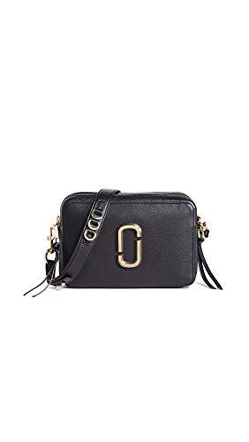 Marc Jacobs Women's The Softshot 27 Bag, Black, One Size