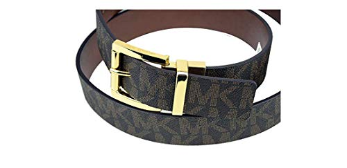 Michael Kors Womens Signature Reversible Belt Brown (Large) from Michael Kors