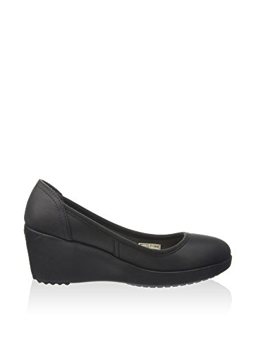 Crocs Marin ColorLite Damen Wedge schwarz W6