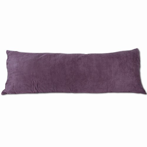 Newpoint International Inc. Microsuede Body Pillow Cover Wit