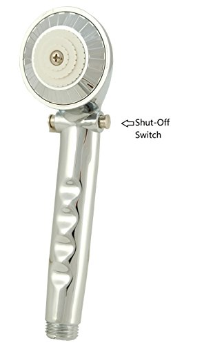 Pause Control Hand Held Shower, Handheld Showerhead with On Off Switch - By - Pause Control Shower Handheld