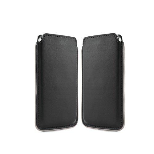 NATUREL-EUROPE Handytasche Apple Iphone 5s Tasche Etui Handyzubehör Schutz Case Smartphone Hülle Handyhülle Cover Schutzhülle Handy Schutztasche Designer Schwarz