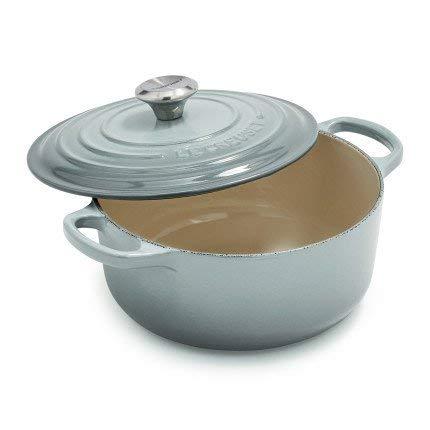 Le Creuset Round Dutch Oven, 2.75 qt, Sea Salt