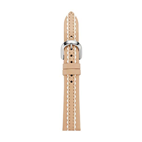kate spade new york vachetta leather touchscreen smartwatch strap – KSS1603 Color: Beige