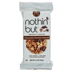 Nothin But Snack Bar Chocolate Coconut Almond 1.4 oz Pack of ()
