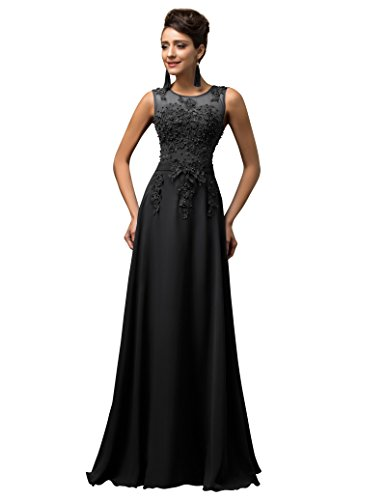long black evening dress size 20 - 1
