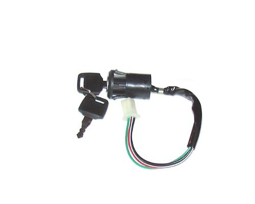 Ketofa Chinese Ignition Key Switch set 4B for 50-110cc mini ATVs and 70-250cc Motorcycles