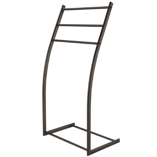 Kingston Brass SCC8255 Pedestal Steel Construction Towel Rack, Oil Rubbed ()