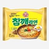 [Korean Noodle] Ottogi Sesame Ramen 오뚜기 참깨 라면