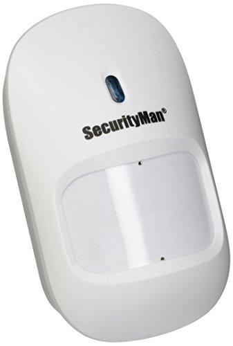 Securityman IWATCHALARMD Add-on Wireless PIR Motion Sensor, White ()