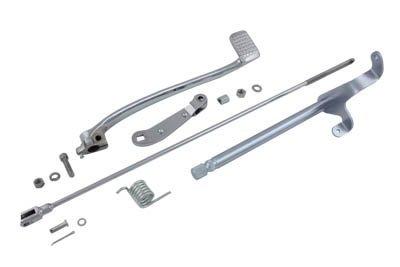 V-Twin 22-0811 - Brake Pedal Linkage Kit Rear Chrome