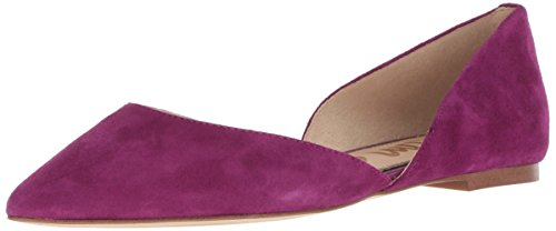 Sam Edelman Women's Rodney Ballet Flat, Purple Plum, 11 M - Shoes Purple Designer
