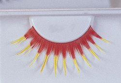 EYELASHES RED WITH YELLOW ()