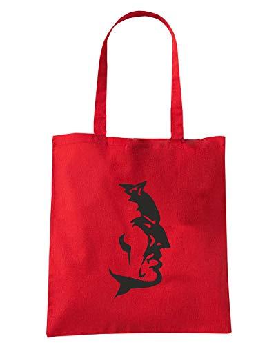 Rossa DEVIL WC0539 RED Shopper Borsa zw45qn