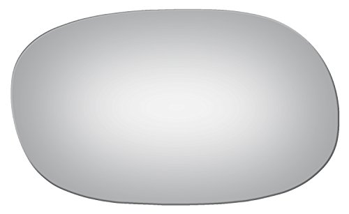 Mirror Buick Glass Electra - Burco 2131 Flat Passenger Side Manual Mirror Glass for Buick Century, Electra, LeSabre, Regal, Skylark, Chevy Caprice, Chevelle, Corvette, Camino, Impala, Malibu, Monte Carlo, Nova