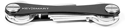 KeySmart Extended | Compacto llavero y organizador (2-8 llaves)