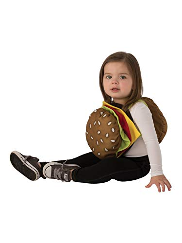 Rubie's Kids' Toddler Opus Collection Lil Cuties Cheeseburger Costume Onesie, As As Shown, ()