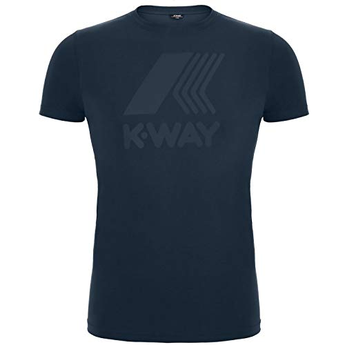 Mens Macro Elliot Blu way Logo T shirt K q8vFwzn