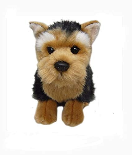 - Faithful Friends Plush Dog Yorkshire Terrier - Cute Stuffed Animal