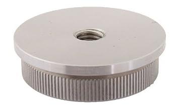 Tapa plana M8 rosca macizo para tubo de 42,4 x 2,0 mm - V2A (S011080): Amazon.es: Bricolaje y herramientas