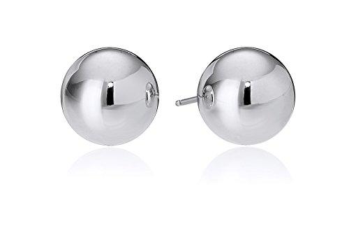 Sterling Silver 7mm Ball Stud Earrings