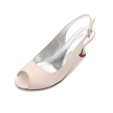 Azul Vestido CN36 Champán UK4 Plana Heelivory Verano Primavera EU36 Boda Satin Las US6 Confort Mujeres'S De Rhinestone Wedding Noche Shoes RTRY amp;Amp; Bowknot Rubí ZxqzHg4wx