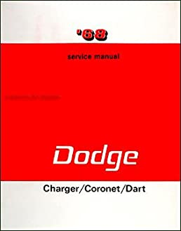 Dodge charger rt maintenance schedule user manuals 1968 dodge charger coronet dart shop manual reprint repair r t gt chrysler dodge dart coronet amazon fandeluxe Image collections