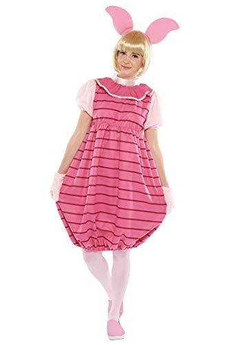 Disney Winnie the Pooh - Piglet Costume - Teen/Women's Std Size