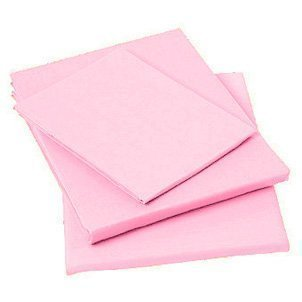 Matching Bedrooms Polycotton Housewife Pillowcases!! Choice Of Colours!!! Pink by Papa Jones Ltd