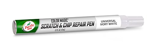 Scratch Repair Chip Paint (Turtle Wax 50777 Color Magic Scratch and Chip Repair Pen, Universal Ivory)