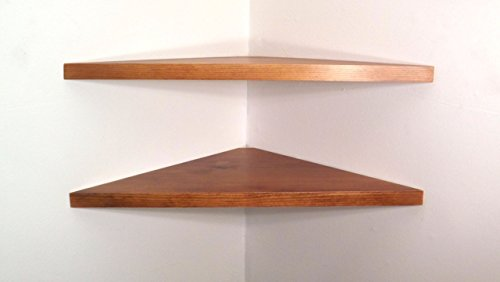 24-inch-wide-set-of-2-solid-wood-floating-corner-wall-shelves-with-american-walnut-stain-choose-a-po