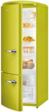 Gorenje RK 60319 OAP de l nevera y congelador Apple verde retro ...
