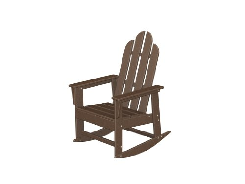 Recycled Plastic Long Island Rocker by Polywood Frame Color: Mahogany by Poly-Wood Adirondack