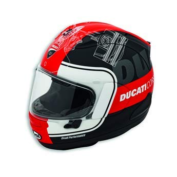 Amazon.com: Ducati Corse 98104701 V3 - Casco, XL: Automotive