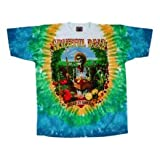 Liquid Blue Men's Grateful Dead Let It Grow Short Sleeve T-Shirt,Multi,X-Large
