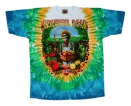 Liquid Blue Men's Grateful Dead Let It Grow Short Sleeve T-Shirt,Multi,Large
