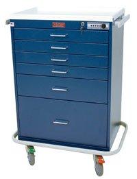 1042777 Workstation Cart 6/drawer Standard Ea Harloff Manufacturing -7450 by Harloff Manufacturing