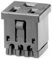 SCHURTER 4300.0703 CONNECTOR, POWER ENTRY, SOCKET 15A (1 piece)