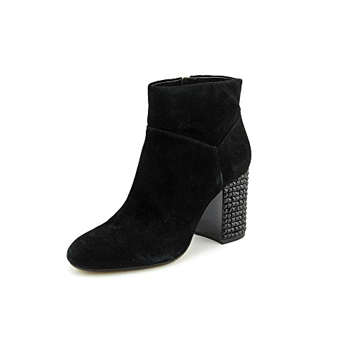 MICHAEL Michael Kors Women's Arabella Ankle Boot Black Kid Suede/Black Crystal 7.5 - Boots Michael Children's Kors