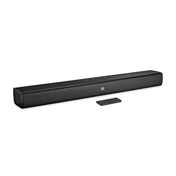 JBL Bar 2.0 Wireless Soundbar with Built-in Dual Bass Port (Black)