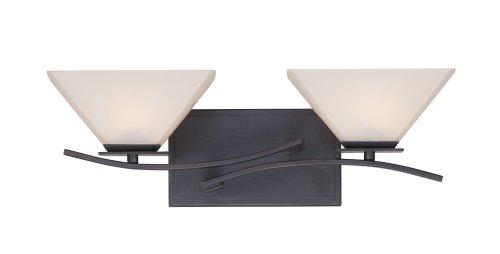 Designers Fountain 67502-BBR Hyland 2 Light Bath Bar, Biscayne Bronze ()