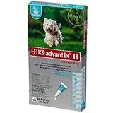 Bayer Advantix II, Medium Dogs, 11 ro 20-Pound, 6-Month