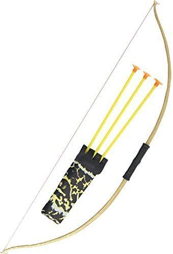 (Boys Girls Bow + Arrow Archer Robin Hood Quiver World Book Day Week Fancy Dress Costume Outfit Toy Accessory Weapon)